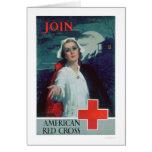 Únase a la Cruz Roja americana (US00307) Felicitaciones