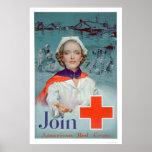 Únase a la Cruz Roja - enfermera (US00306) Impresiones