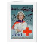 Únase a la Cruz Roja - enfermera (US00306) Tarjetas