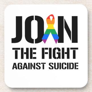 Únase a la lucha contra suicidio gay posavaso