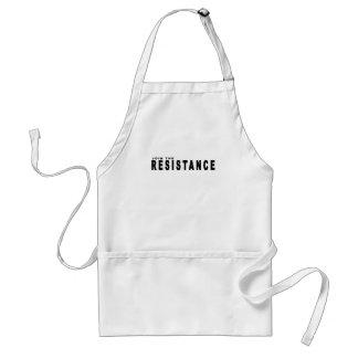 únase a la resistencia t-shirts.png delantales