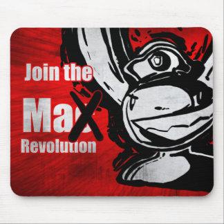 Únase a la revolución máxima mousepad