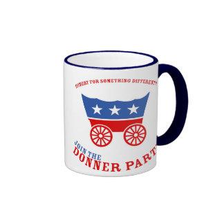 Únase a la taza del fiesta de Donner