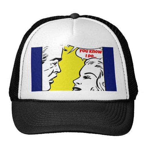Únase a me dibujo animado gorras de camionero
