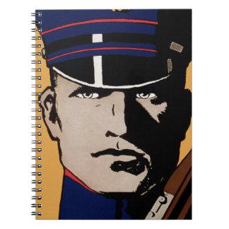 Únase a me los infantes de marina de los E.E.U.U.  Libros De Apuntes
