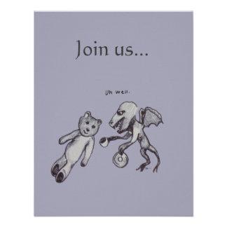 Únase a nos invitación del fiesta del acontecimi