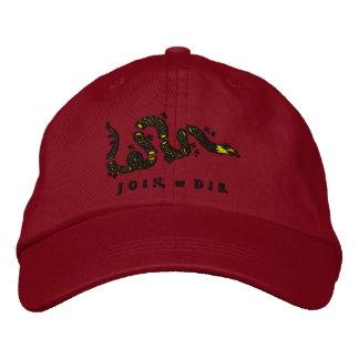 Únase a o muera gorra bordado gorra de beisbol