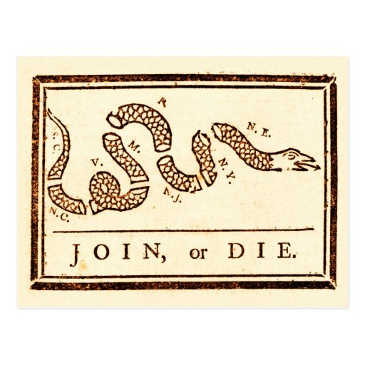 Únase a o muera postal