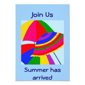 ÚNASE A US-SUMMER HA LLEGADO INVITAN INVITACIÓN 8,9 X 12,7 CM