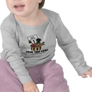 Únase al CSA Camisetas