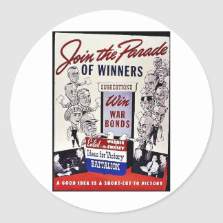 Únase al desfile de los ganadores, enlaces de etiqueta redonda