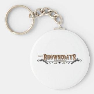 Únase al equipo Browncoats Llavero Redondo Tipo Pin