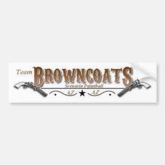 Únase al equipo Browncoats Pegatina Para Auto