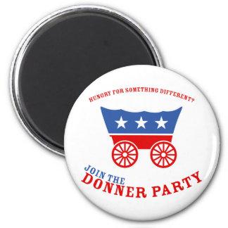 Únase al imán del fiesta de Donner