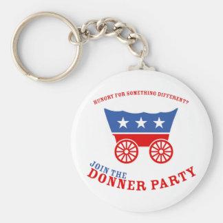 Únase al llavero del fiesta de Donner
