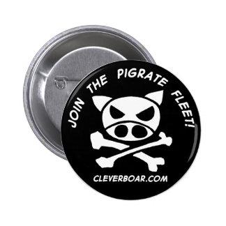 Únase al Pigrates Pin Redondo De 2 Pulgadas