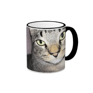 Unassuming And Unimpressed Tommy Cat Mug