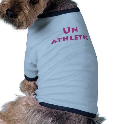 Unathletic Camisa De Mascota
