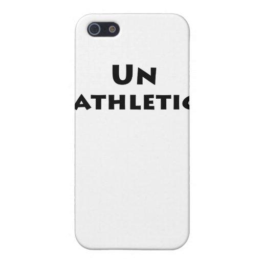 Unathletic iPhone 5 Funda