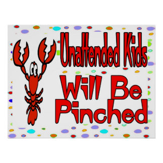 Unattended Kids Poster