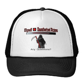 Unauthorized Pictures Trucker Hat