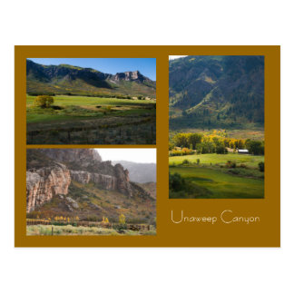 Unaweep Canyon Postcard