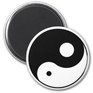 Unbalanced Yin Yang Magnet