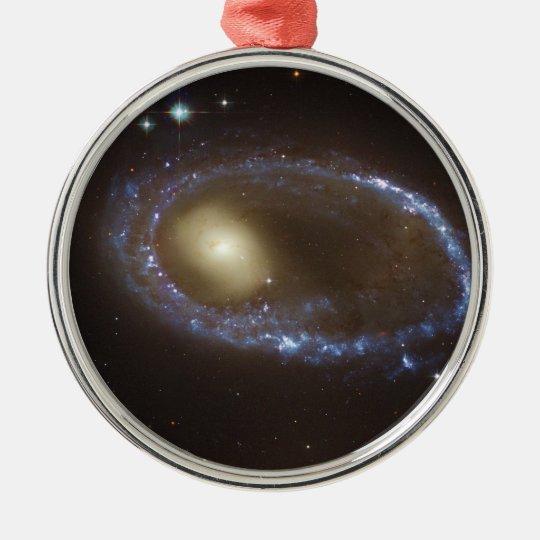 Unbarred Lenticular Ring Galaxy AM 0644-741 Metal Ornament