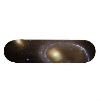 Unbarred Lenticular Ring Galaxy AM 0644-741 Skateboard Deck