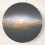 Unbarred Spiral Galaxy UFO Galaxy NGC 2683 Drink Coaster