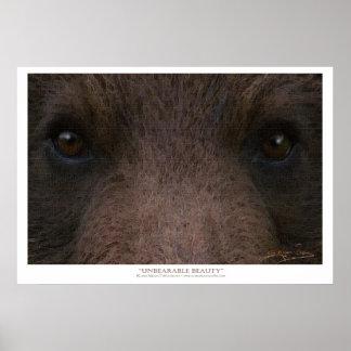 UNBEARABLE BEAUTY (Grizzly Bear) ~ Art Prints