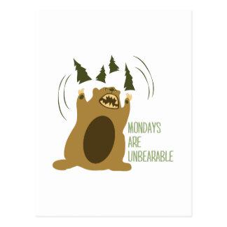 Unbearable Postcards
