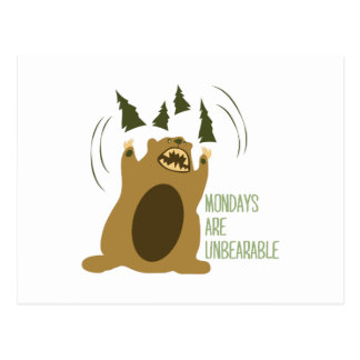 Unbearable Post Cards