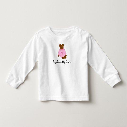 Unbearably Cute Toddler T-shirt