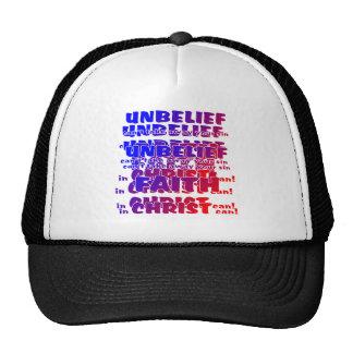 Unbelief v Faith Trucker Hat
