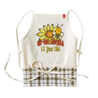Unbelievable 18th Birthday Gifts Zazzle HEART Apron
