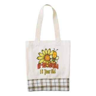 Unbelievable 18th Birthday Gifts Zazzle HEART Tote Bag