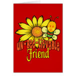 Unbelievable Best Friend Greeting Card