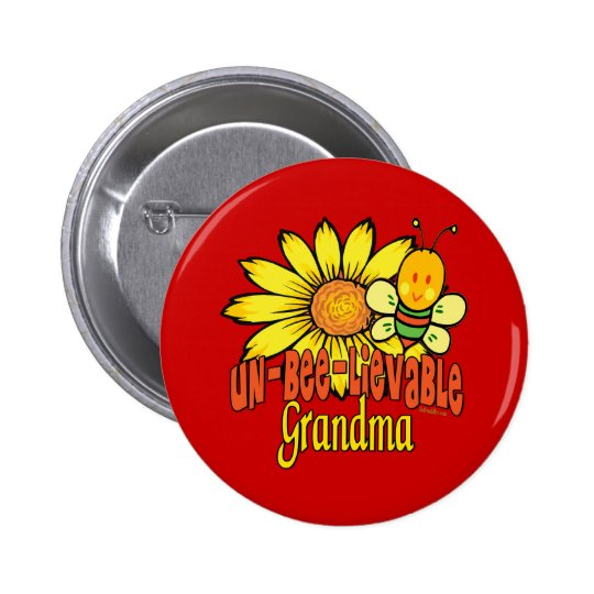 Unbelievable Grandma Button
