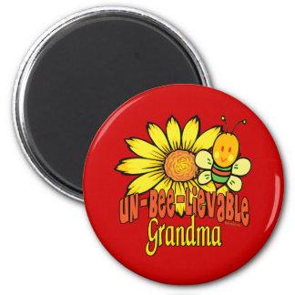Unbelievable Grandma Refrigerator Magnet
