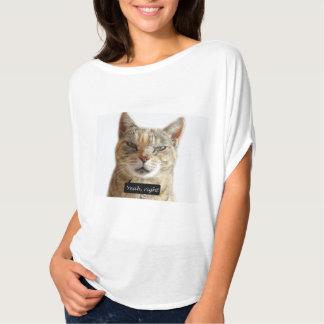 Unbeliever Cat T-Shirt
