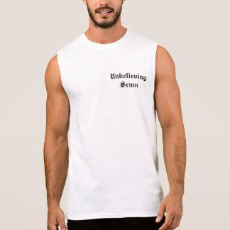 Unbelieving Scum Sleeveless Sleeveless T-shirts