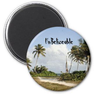 UnBelizeable 2 Inch Round Magnet