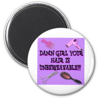 Unbeweavable 2 Inch Round Magnet