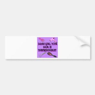 Unbeweavable Bumper Sticker