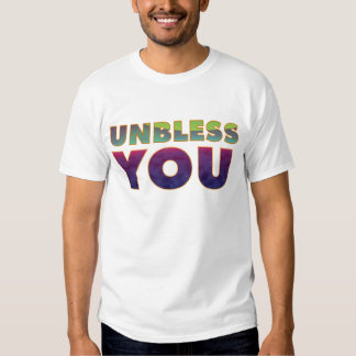 Unbless usted remeras
