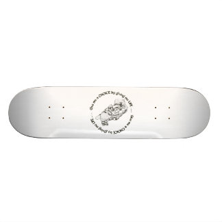 Unborn Baby: Give me a choice by giving me life Skate Board Deck