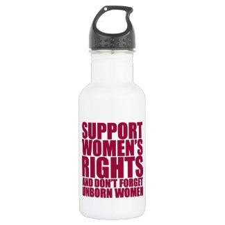 Unborn Women's Rights 18oz Water Bottle