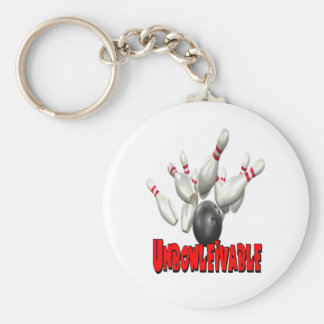 Unbowlievable Bowling Keychain