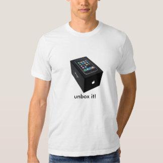 unbox it! playeras